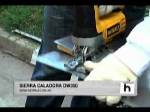 DW300 Sierra Caladora con Accion Orbital - DEWALT