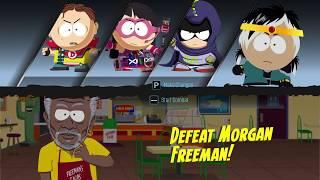 Se7en 南方公園 菊部分裂 打摩根費里曼 Beating Morgan Freeman