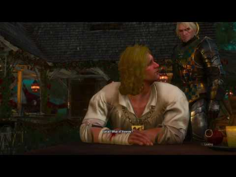 The Witcher 3 DLC: Blood and Wine pt15 - Curses, Unrequited Love and GREAT Loot