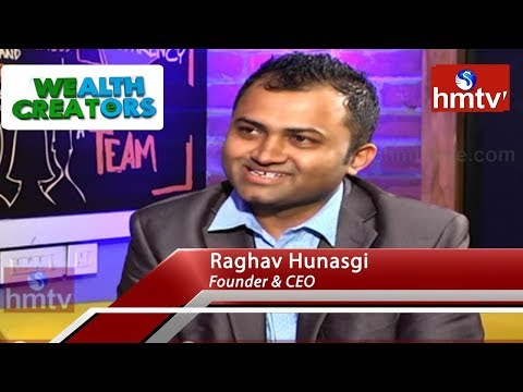 Thought Folks Founder & CEO Raghav Hunasgi Special Interview | Wealth Creators | hmtv News