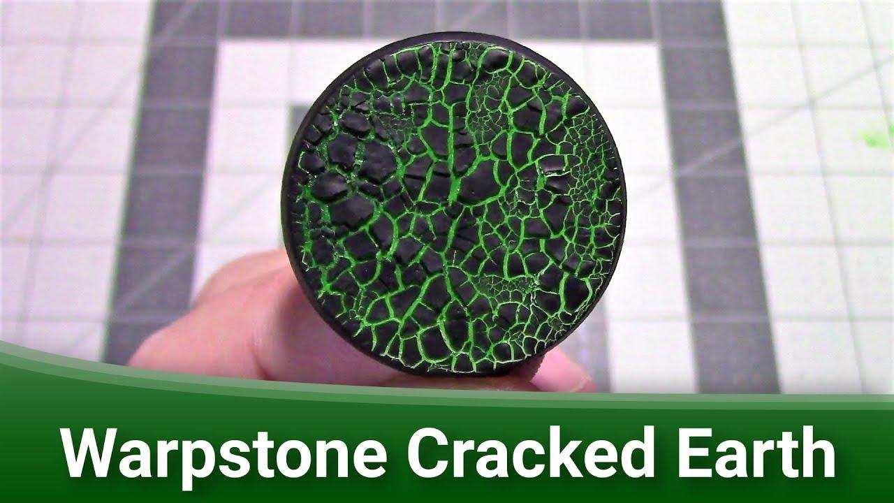 Macleods Mordant Miniatures >> Making Warpstone Cracked Earth Bases