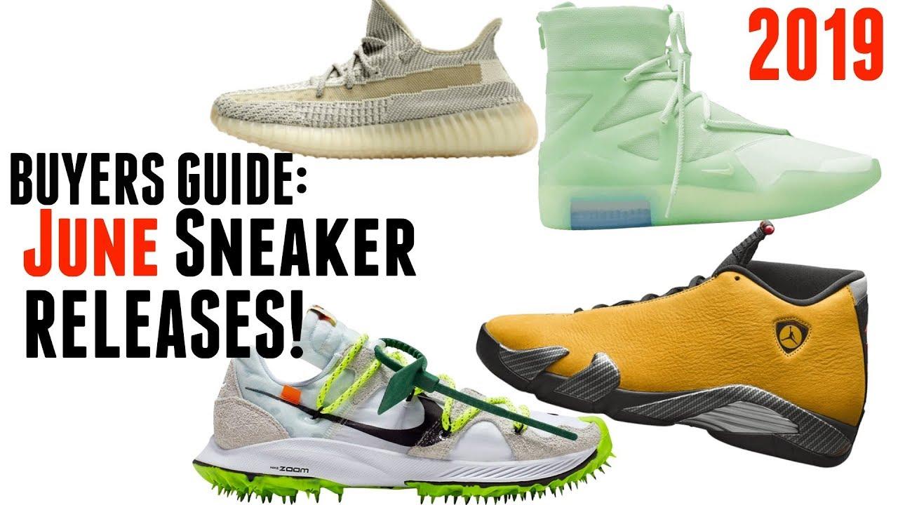 BEST Sneaker Releases of June