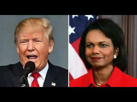 IT'S HAPPENING! Condi Rice Just Walked Into Oval Office To Meet With Trump