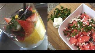 Somali Food With A Modern Twist | Assorted Fruit And Yogurt Parfait | Cooking With Hafza
