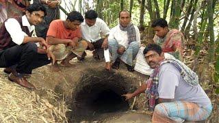 বাংলাদেশ-ভারত সীমান্তে গোপন গুহার সন্ধান! দেখুন কী আছে গুহার ভিতরে (ভিডিও)