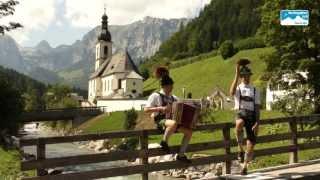 Schuhplattler im Berchtesgadener Land. Tradition und Brauchtum in Bayern