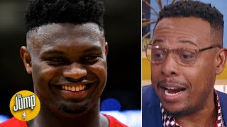 Download Paul Pierce reacts to Zion's 31-point game: 'This is a rookie?! Oh my goodness' | The Jump Mp3 and Videos