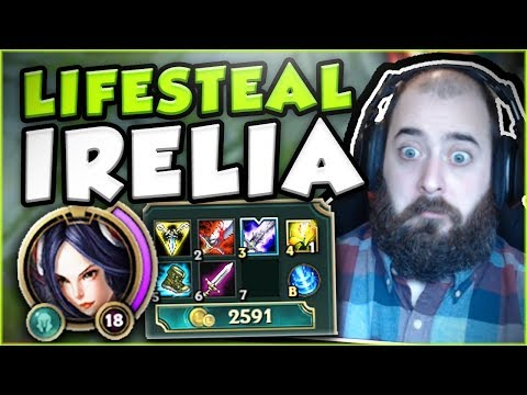 Download Youtube: HOW OPPRESSIVE CAN FULL LIFESTEAL BE ON IRELIA? NEW OP IRELIA TOP BUILD SEASON 7! League of Legends