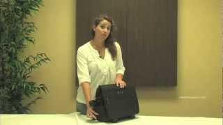 Kenneth Cole Reaction R-Tech Laptop Notebook Computer Briefcase Thumbnail