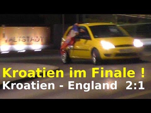 Kroatien - England 2:1 Croatia -England  - KROATIEN im FINALE ! Fußball-WM 2018 FIFA World Cup