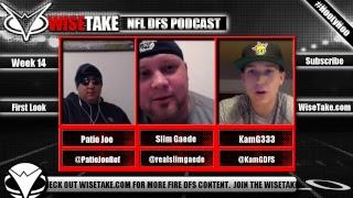 NFL Week 14 FanDuel & DraftKings Podcast w/ @PatioJoeRef @realslimgaede & @KamGDFS thumbnail