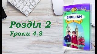 Англійська мова (3 клас) Алла Несвіт / Розділ 2 (Уроки 4-8)