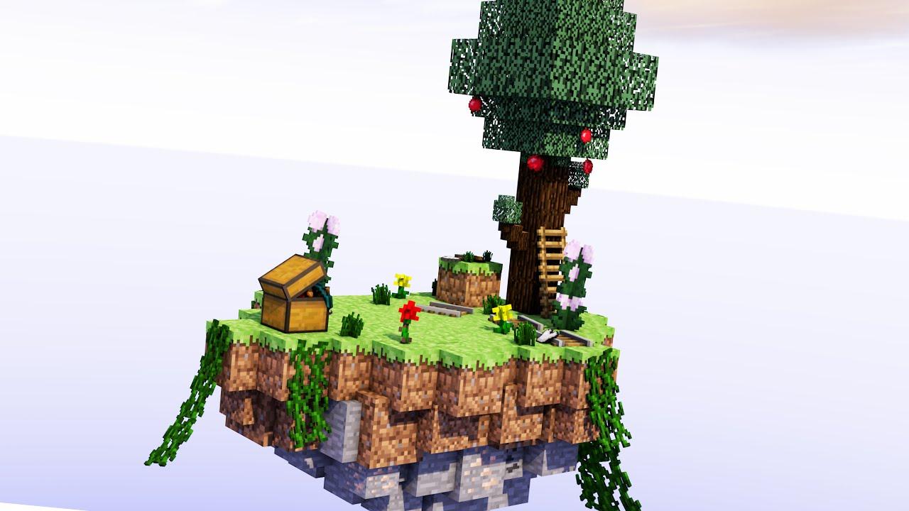 Minecraft na ilha