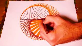 Learn To Paint Yin And Yang Geometric Art | Spirograph Pattern Tutorial