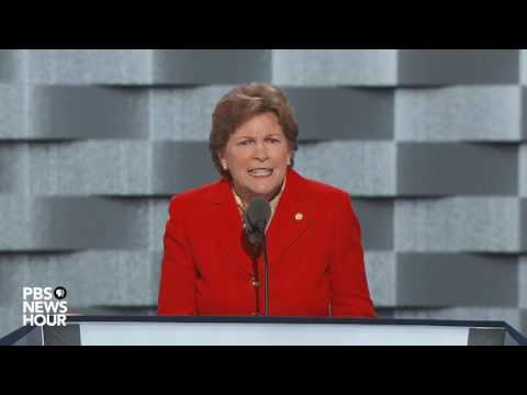 Watch Sen. Jeanne Shaheen's full speech at the 2016 Democratic National Convention
