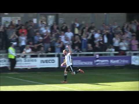 Dartford v Eastbourne Borough Goals