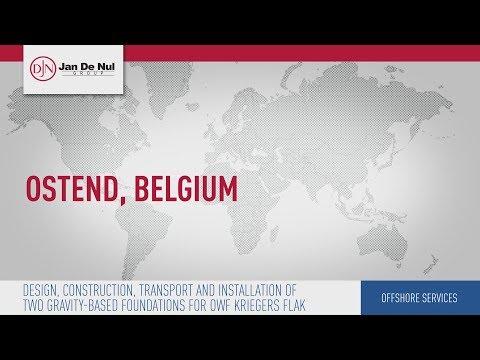 Jan De Nul Group - Construction foundations OWF Kriegers Flak (Belgium)