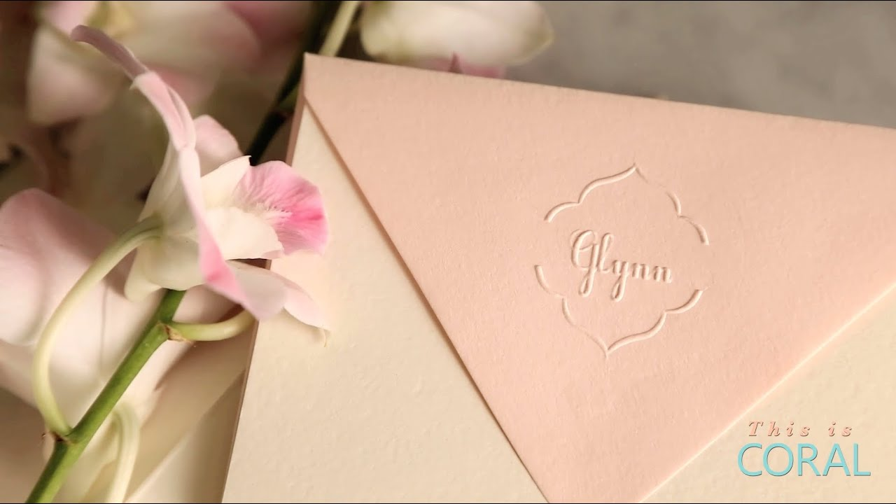 youtube premium - Personalized Embossed Note Cards