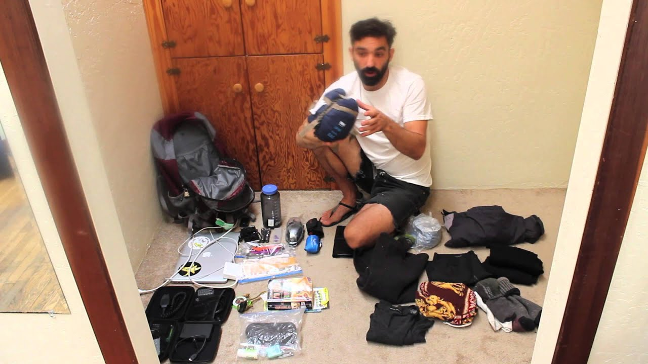 Minimalist travel backpacking what i am taking to for Extreme minimalist living