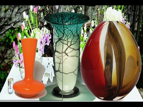 antique glass vases  & vases for wedding