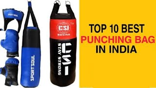 Top 10 Best Punching Bags in India With Price 2020 | Best Punching Bags Brands