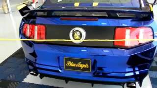 Ford Mustang GT Blue Angels Edition 2012 Videos