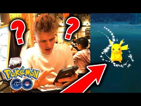 ONE OF THE WORLD'S FIRST SHINY PIKACHU'S!!! (Pokemon Go)