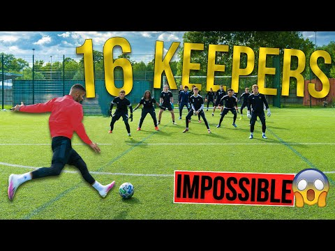 SHOOTING AGAINST 16 KEEPERS | IMPOSSIBLE CHALLENGE | Billy Wingrove & Jeremy Lynch Thumbnail
