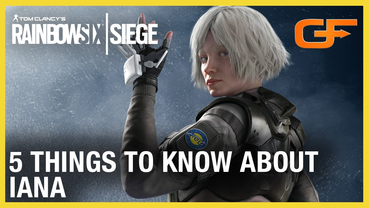 Rainbow Six Siege: 5 Things to Know About Iana w/ Get_Flanked | Ubisoft