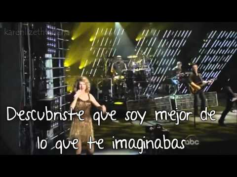Sparks Fly - Taylor Swift - Traducido En Español - En Vivo