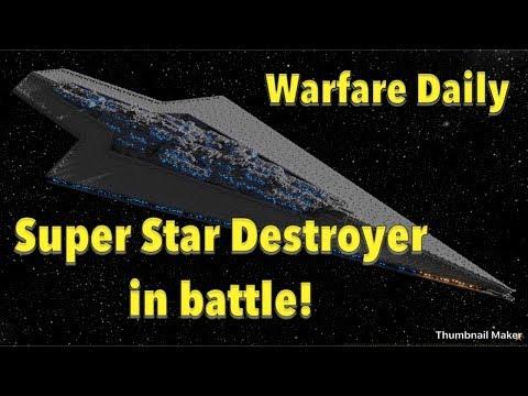 Super Star Destroyer Vs Imperial Remanent fleet! Starwars FOC
