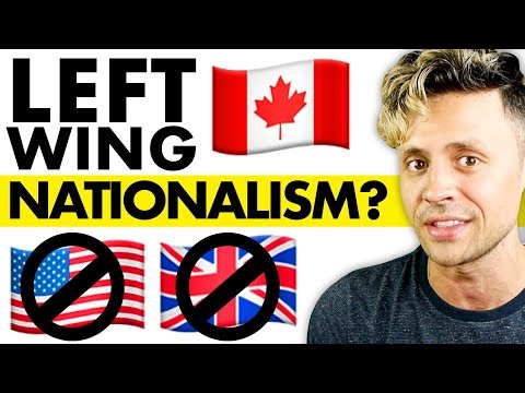 Canada's weird, left-wing, anti-American nationalism
