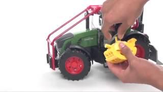 Трактор Fendt 936 Vario лесной с манипулятором Bruder(, 2014-09-30T20:16:13.000Z)