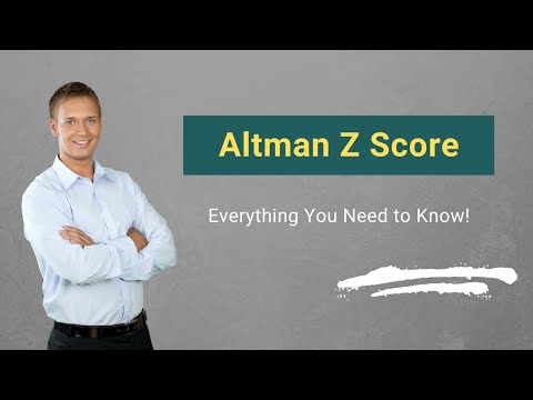 Altman Z Score Formula How To Calculate