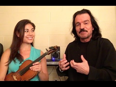 Yanni: Master Class with Mary Simpson on violin