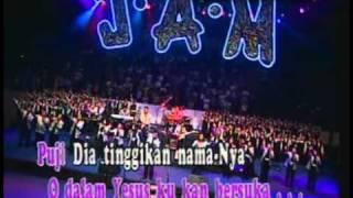 JAM : Jangkau Anak Muda (live concert) #1 PUJI DIA, YESUS SUKACITAKU