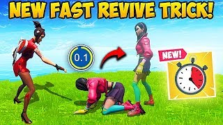 *NEW* SUPER OP REVIVE TRICK!! - Fortnite Funny Fails and WTF Moments! #581