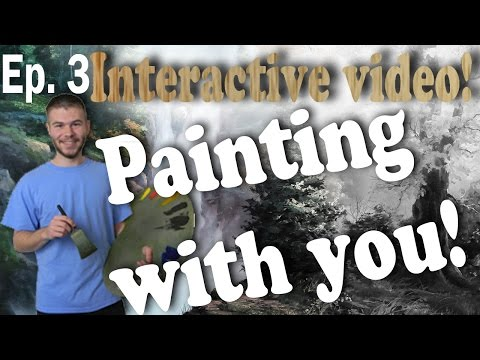 Oil Painting With You - Waterfall | Boulders and Rocks | Watch, Vote, Create | Ep.3