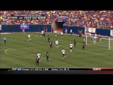 Northwestern University Wildcats Soccer Highlights - Messi & Friends at Soldier Field - July 6, 2013