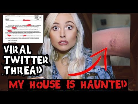 MY HOUSE IS HAUNTED.. Scariest Twitter Thread | Ghost Story