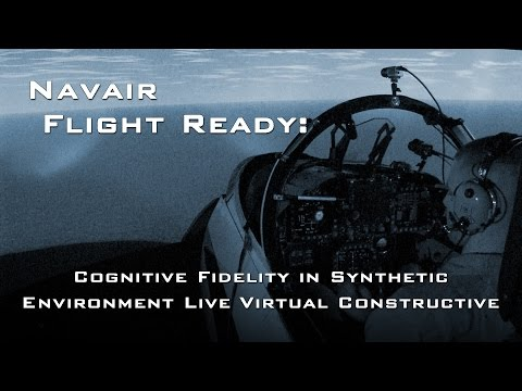 Flight Ready: Cognitive fidelity in synthetic environment live virtual constructive