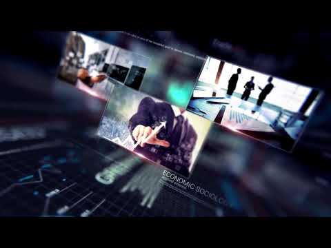 Digital Technology Intro Economy Finance | After Effects template