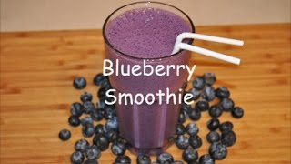 Weight Loss Smoothie  / Blueberry Flaxseed Oil Smoothie