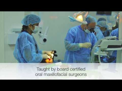 7 days of intensive surgical training, LIVE Implants Courses in Dominican Republic