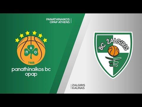 Panathinaikos Athens - Zalgiris Kaunas Highlights | Turkish Airlines EuroLeague, RS Round 20