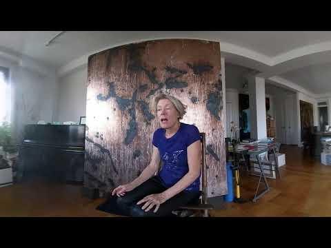 360° video: Interview with Dove Bradshaw, artist, New York, 12 September 2017 (Part 2)