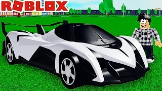 THE MOST EXPENSIVE CAR IN THE WORLD! Roblox Vehicle Tycoon