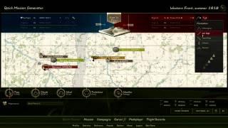 Rise of Flight Review Part 1 Menu Walkthrough HD