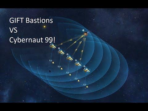 VEGA Conflinct PVE Gift Bastions(+mk +armor +shields) Vs Cybernaut 99!
