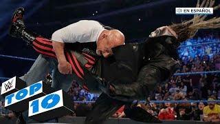 Top 10 Mejores Momentos de SmackDown En Español: WWE Top 10, Feb 21, 2020